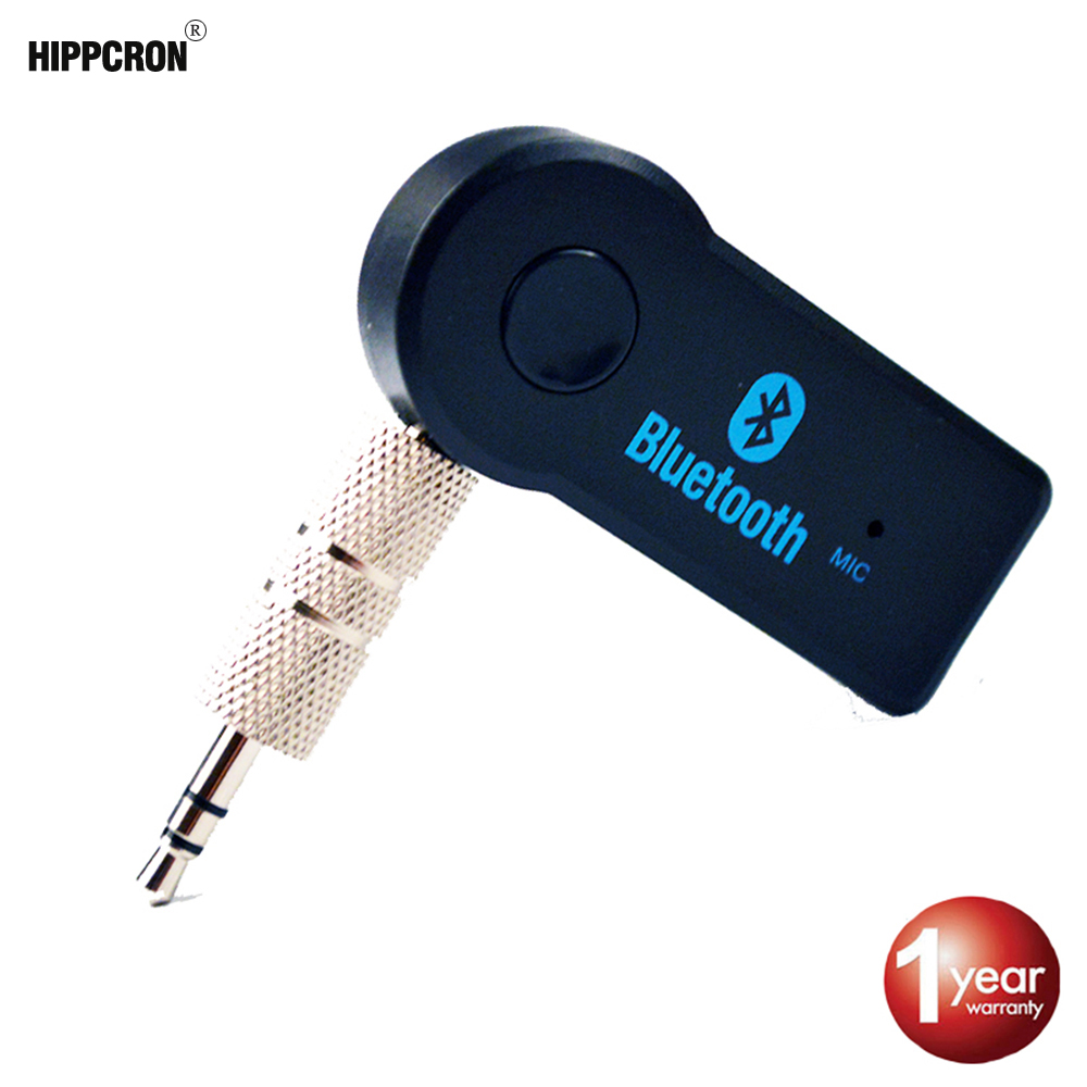 Hippcron Car Bluetooth Car Kit Adapter Aux  Car Bluetooth V3.0 With 3.5mm EDR Wireless  Fc Of Car Buyers