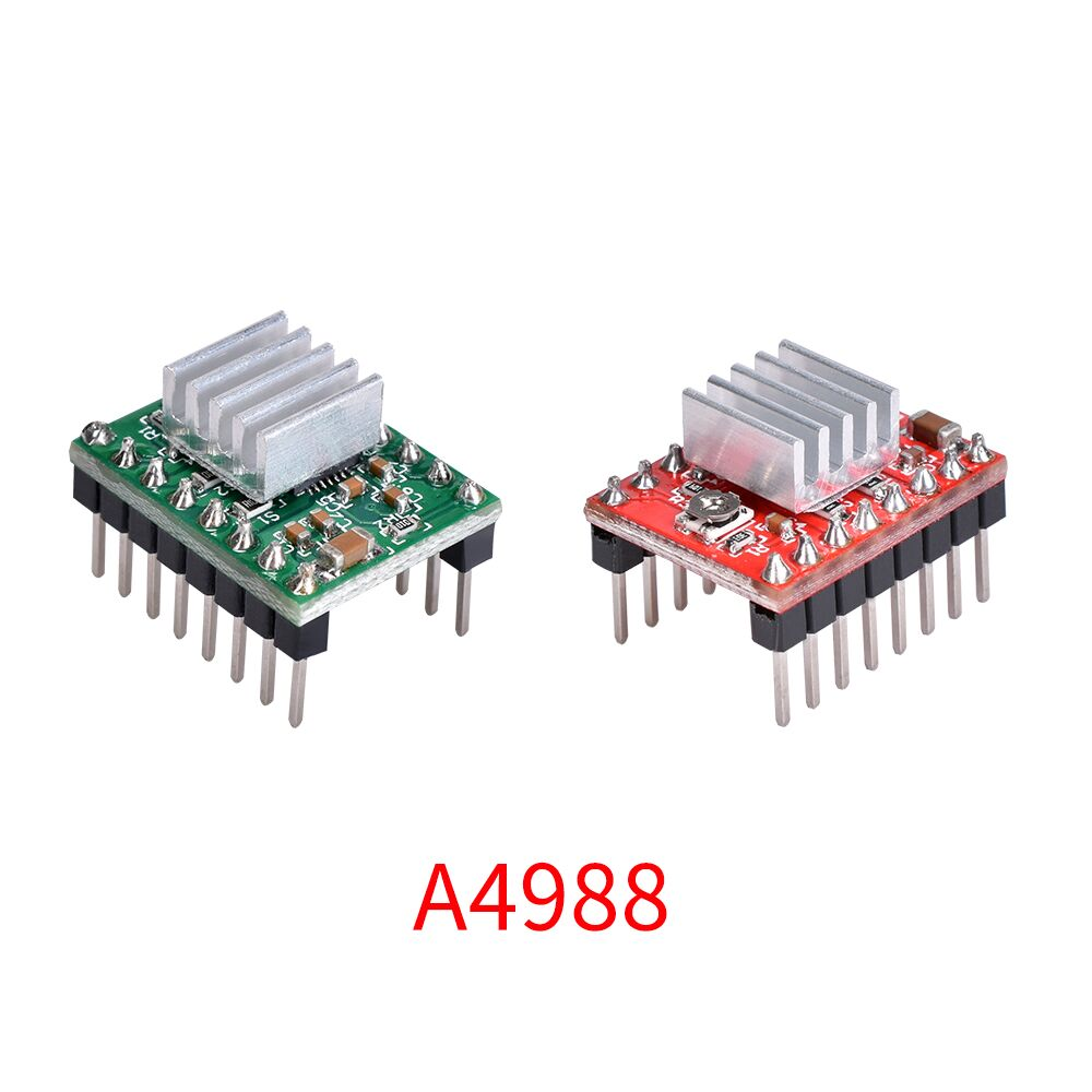 5PCS 3D Printer Parts Reprap A4988 Stepper Motor Driver Module With HeatSink Stepstick Like DRV8825 Compatible With Ramps 1.4