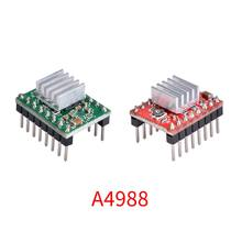 5PCS 3D Printer Parts Reprap A4988 Stepper Motor Driver Module With HeatSink Stepstick Like DRV8825 Compatible With Ramps 1.4(China)