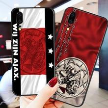Yinuoda Phone Case For Ajax Team Huawei P9 lite P10 Shell DIY Frenkie de Jong P8 2017 mate 10 P30 NOVA