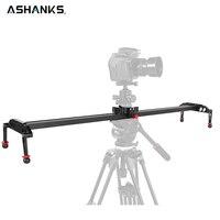 ASHANKS DSLR камера ползунок алюминий демпфирования трек железнодорожных ползунки системы видео стабилизатор для видеокамеры Vlog Youtube Фотостуди...