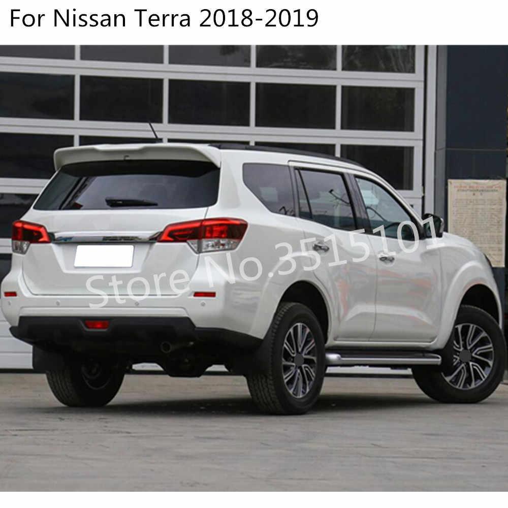 Carbon Fiber Middle Air Vent Outlet Panel Cover Trim For Nissan Terra 2018 2019