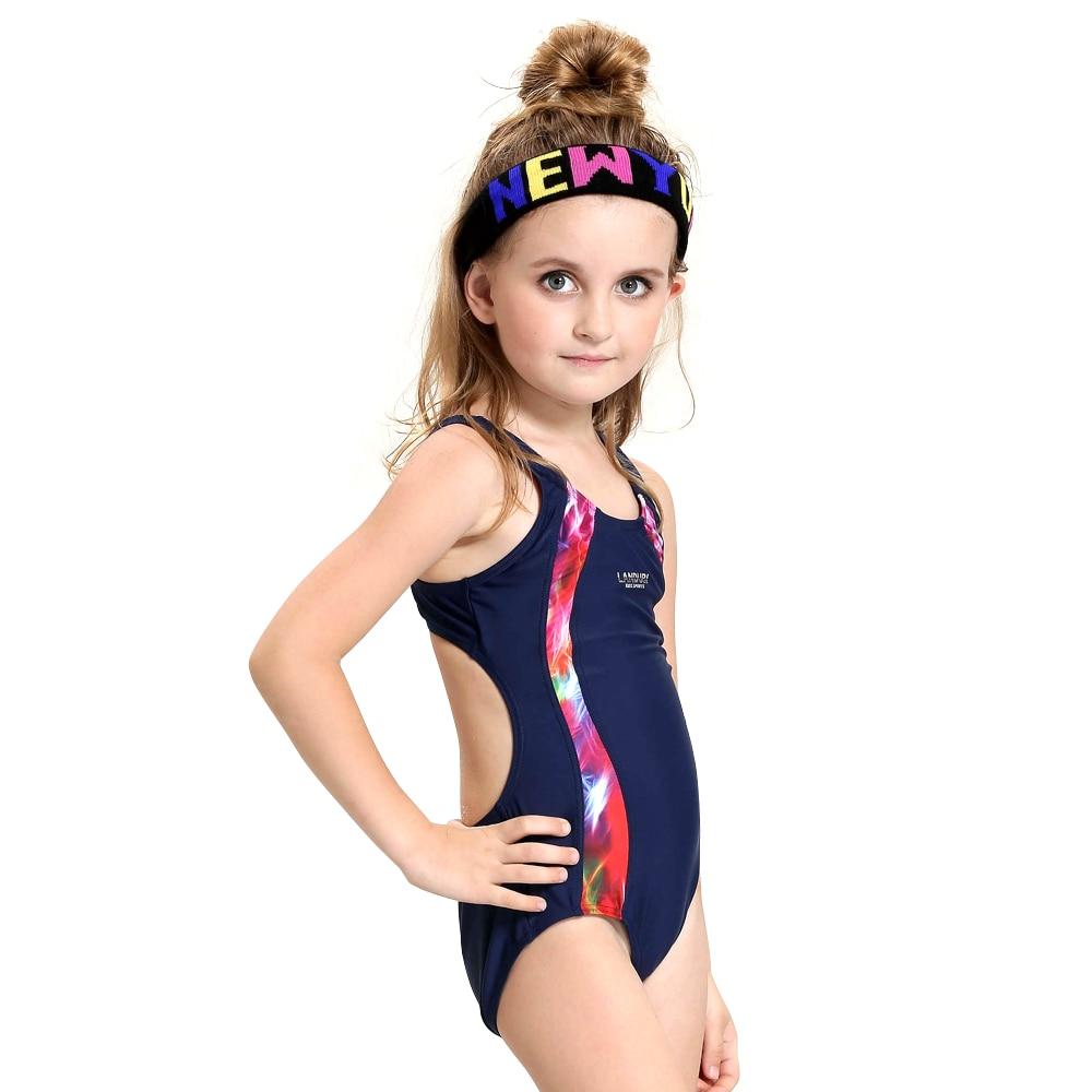 2017 Lovely Kids One Piece Swimwear Girls Swimsuit -8921
