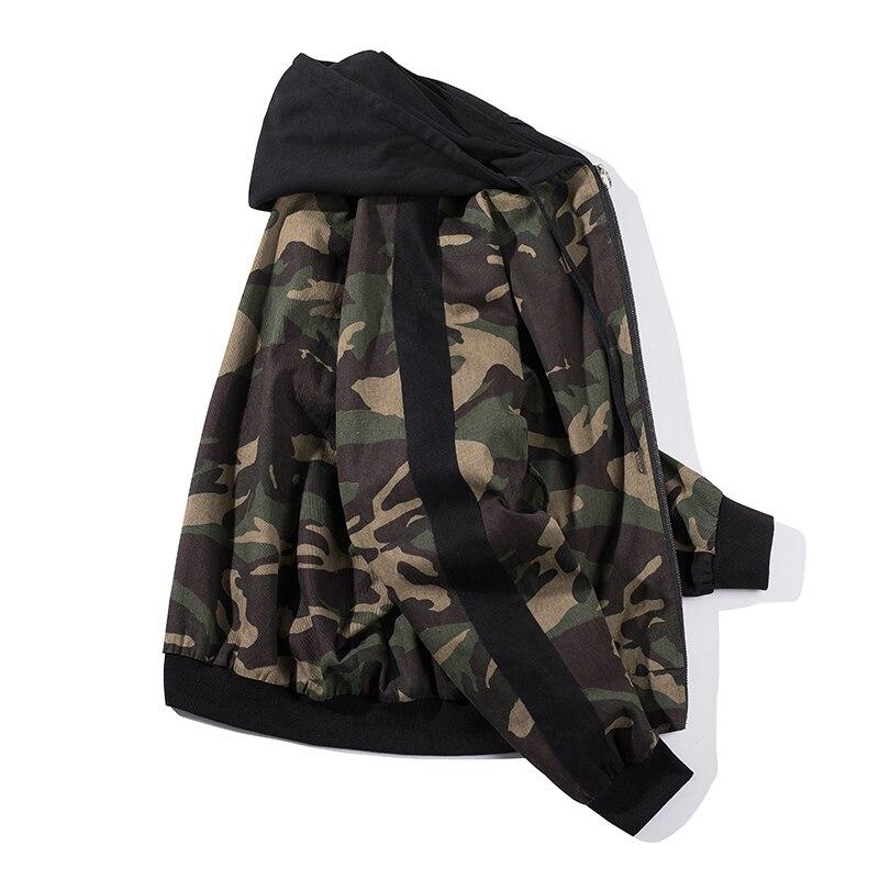 Casual Et Printemps Même Faux Papier Facile Lâche Sera Veste Nouveau 18 Code Camouflage Gothique Homme Manteau Deux Automne Mode Chapeau f7dqwn5xU