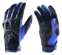 Новое поступление мотоциклов кожа защитная сетка гоночные перчатки, лето дышащая перчатки