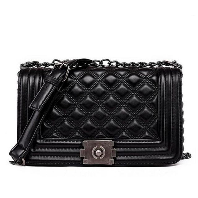 Luxury Diamond Lattice Handbags Women Bags Designer Lady Quilted Plaid Shoulder Crossbody Bags Leather Women Messenger Bag