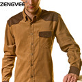 Nueva Marca de Moda Otoño Camisa Para Hombre Casual Slim Fit Hombres de Manga Larga Camisa de Los Hombres Ocasionales Camisa de Los Hombres Sociales