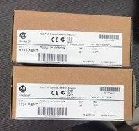 1734 AENT Marka yeni ve Orijinal Fabrika mühür Allen Bradley SER B Noktası I/O Ethernet Ağ Adaptörü 1734-AENT 1 adet