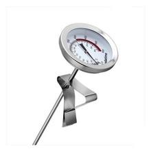 Термометр для барбекю Кухня Применение молоко Температура метр Нержавеющая сталь Кофе Сталь термометром масла Температура зонд
