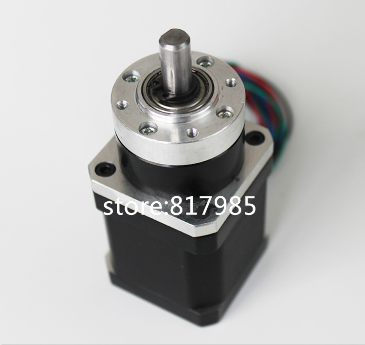 NEW Planetary Gearbox stepper motor Nema 17 82:1 Reduction ratio Geared speed reduce Motor 3d printing stepper motor 57mm planetary gearbox geared stepper motor ratio 10 1 nema23 l 56mm 3a