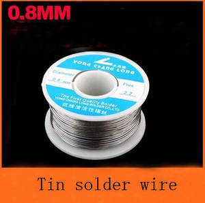 50pcs/lot Wholesale Solder Wire reel  0.8mm 100g Tin Lead Melt Rosin Core Solder