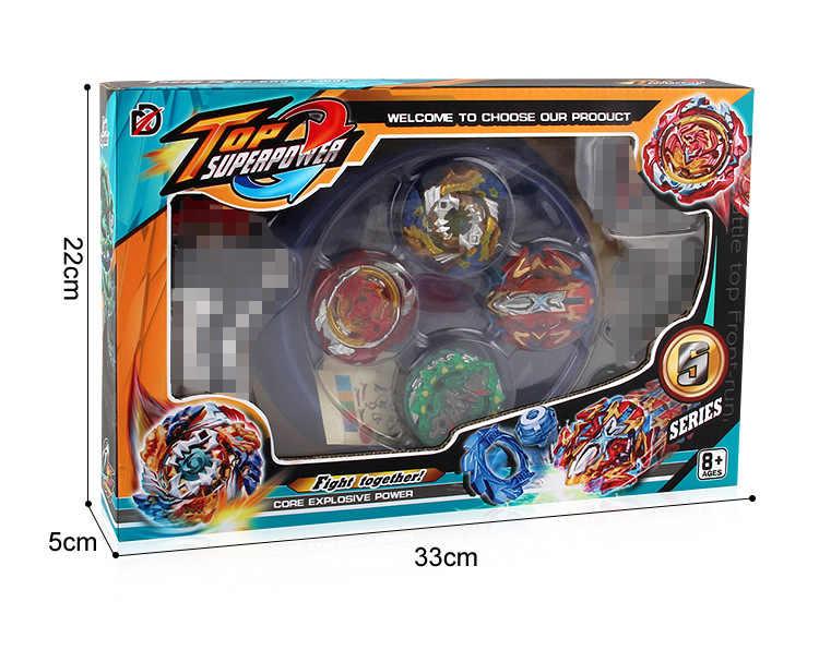 Горячий стиль XD168-11 Beyblade burst игрушки Арена набор распродажа вращающийся Топ металлический Fusion Бог спиннинг Топ лезвие игрушка