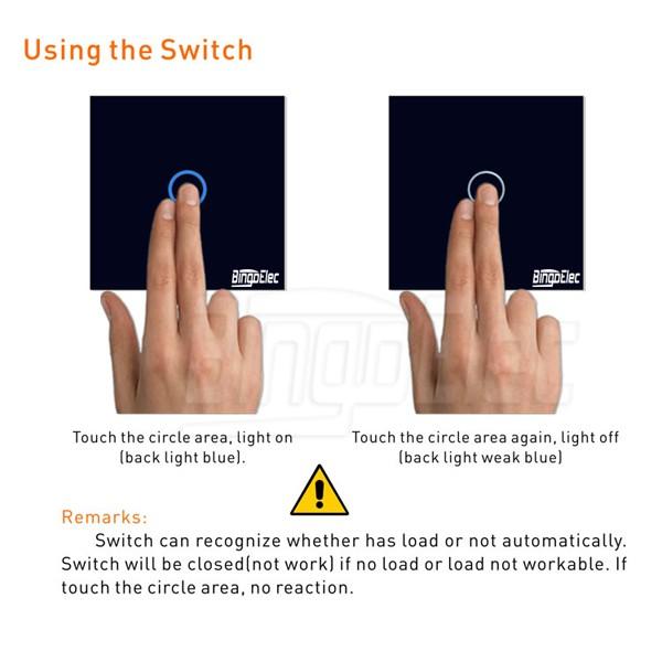 высочайшее качество ес/великобритания стандартный 3 банды выключатель фонаря сигнала, датчик 3gang1way выключатель света