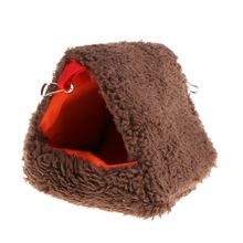 Hammock Hamster Nest Hanging-Cage Swing-Toys Pets Sleeping-Bed Squirrel Fleece Small