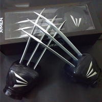 New Arrival 1;1 Scale One Pair X Men Wolverine Claws Soft Plastic + ABS Materials In Boxed For Children