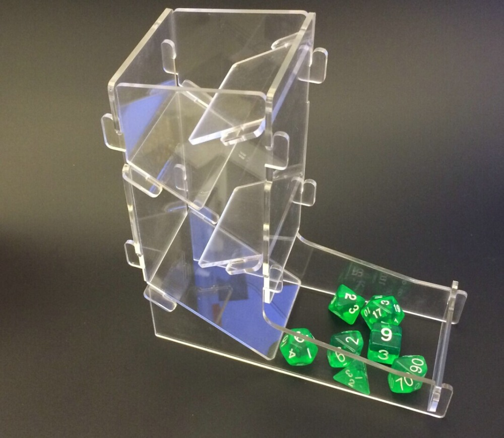 The dice tower/Game accessories/Throw the dice/Creative dice tower/Dragon and dungeon dice tower