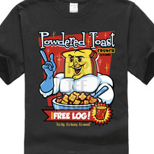 2e0089406 2018 Summer Casual Man T Shirt Ren And Stimpy Shirt Powdered Toast Crunch  With Free Log