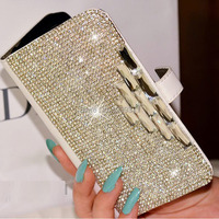 Luxury Bling Rhinestone Diamond For Samsung Galaxy S5 S4 S3 Note 2 3 N7100 I9500 I9600