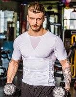 Men Quick Dry Brand New T Shirt Fitness Men Compression Slim Fit T Shirts Under Wear