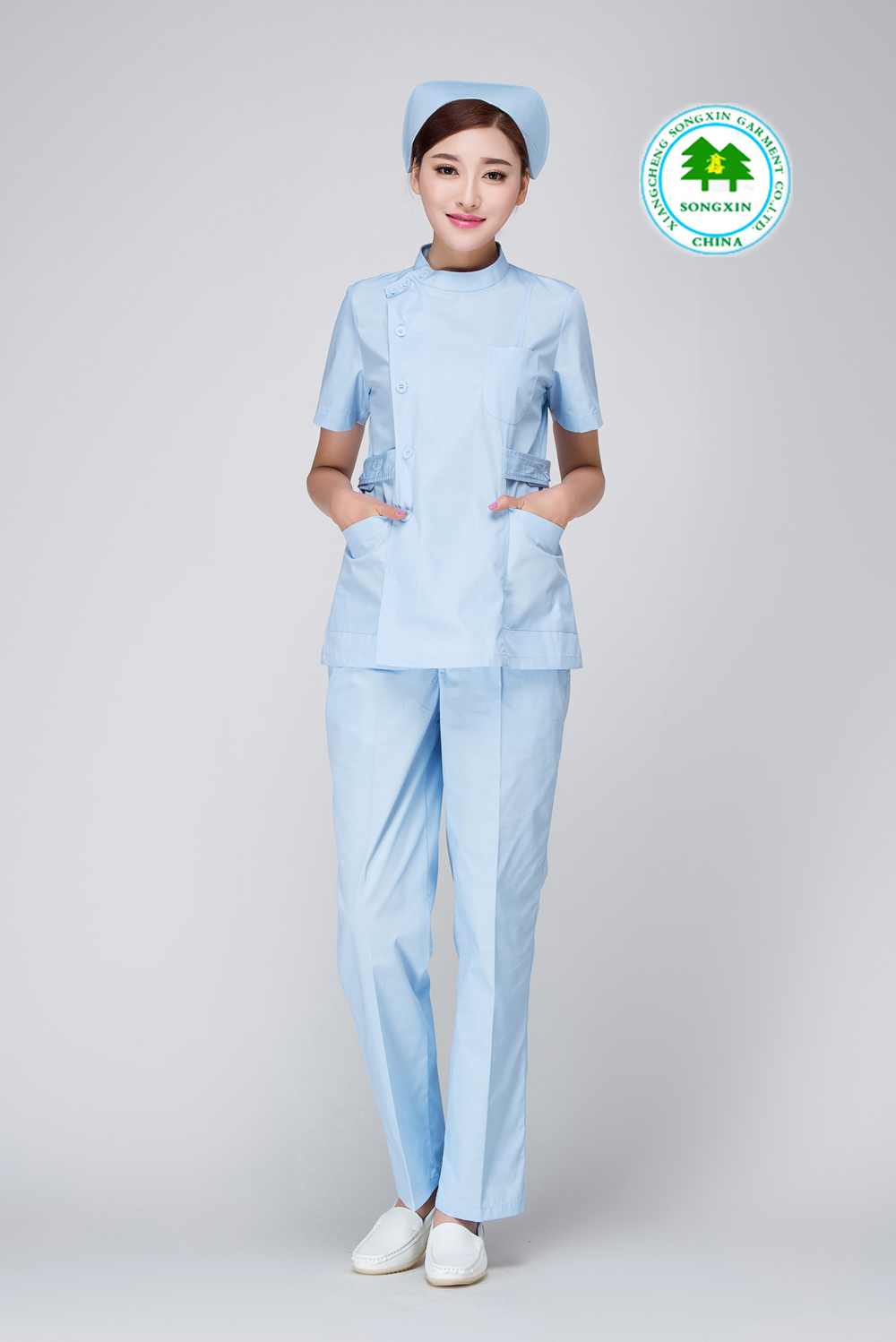 e312afe3b4ff0 Free Shipping OEM uniformes hospital nursing scrubs medical clothing lab  coat doctor nurse overalls medical women work wear fit-in Nurse Uniform  from ...