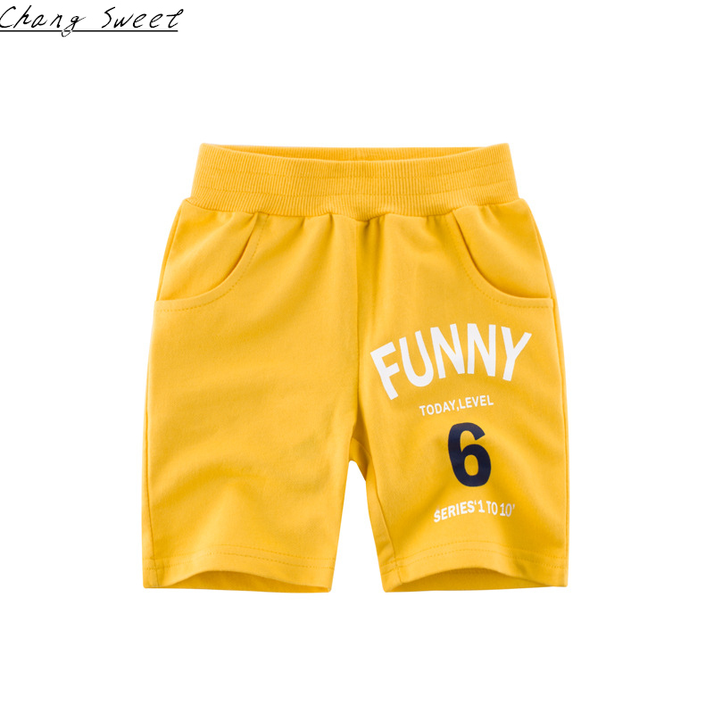 2019 Sommer Neue Kinder Kleidung Jungen Und Mädchen Baby Baumwolle Digitaldruck Fünf Hosen