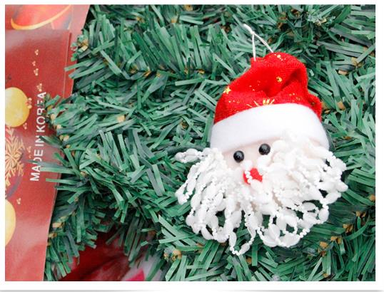 12pcs santa claus christmas tree decorations kerst for Decoraciones de navidad para el hogar