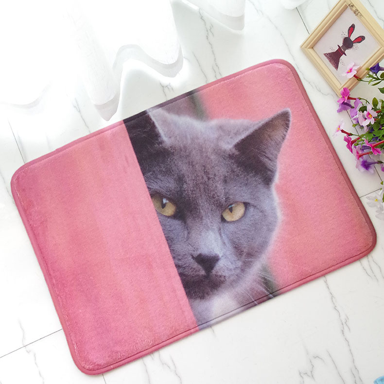 soft flannel cartoon cat elephant doormats area rugs kitchen bedroomsoft flannel cartoon cat elephant doormats area rugs kitchen bedroom bathroom hallway entrance welcome floor mats carpet 60x90cm
