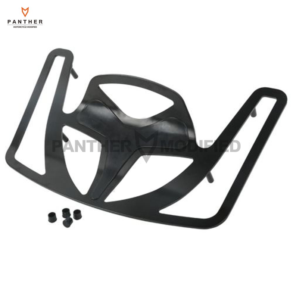 Black Motorcycle Rear Trunk Luaggage Rack case for Honda Goldwing GL1800 2001-2013 motorcycle flag pole luggage rack vertical american for honda goldwing gl1800 2001 2011