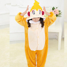 Children's Onesie Costumes Kids Halloween Carnival Kigu Pokemon Cosplay Pikachu Raichu Charmander Charmeleon Monferno Bulbasaur