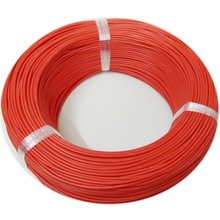 300 meters/roll (984ft) 22AWG high temperature resistance Flexible silicone wire tinned copper wire RC power Electronic cable 22awg arcade stranded hook up wire pvc flexible electronic tinned copper wire electronic cable 10m 33ft per pcs