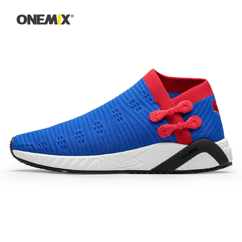 2019 Men Tennis Shoes For Women Retro Classic Athletic Trainers Trail Sports Footwear Blue Breathable Outdoor