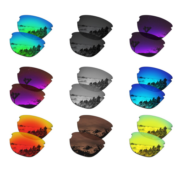 SmartVLT Polarized Replacement Lenses For Oakley Frogskins Lite Sunglasses - Multiple Options