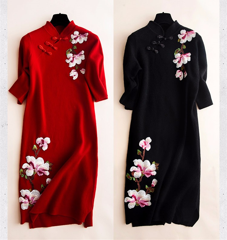 Free Shipping High Quality Clothing Embroidery Magnolia Flower Patch