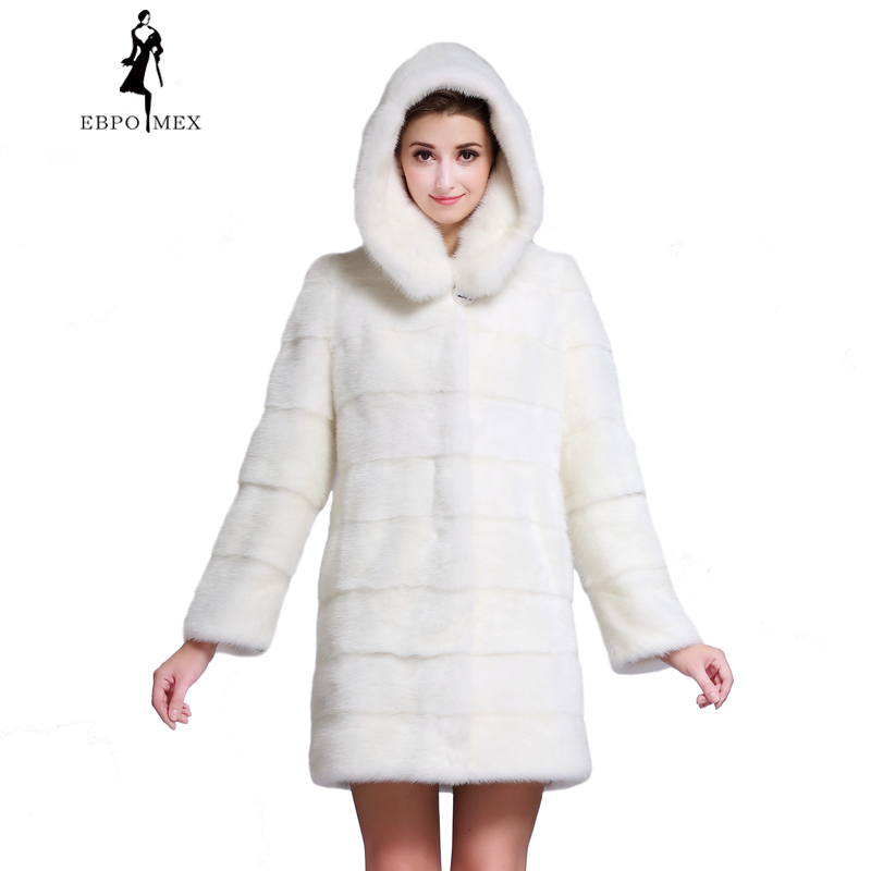 Popular White Mink Coat-Buy Cheap White Mink Coat lots from China ...