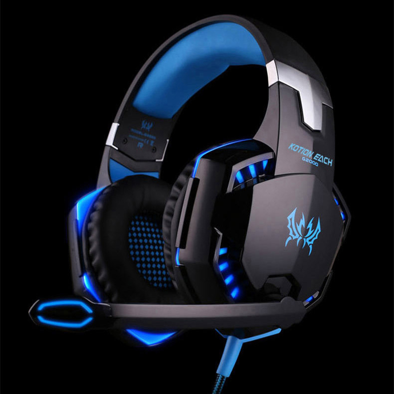GS2 Professional Stereo Gaming Headset for PS4, Xbox One Headphones with Mic and LED Lights for Playstation 4, Xbox One, PC цены онлайн