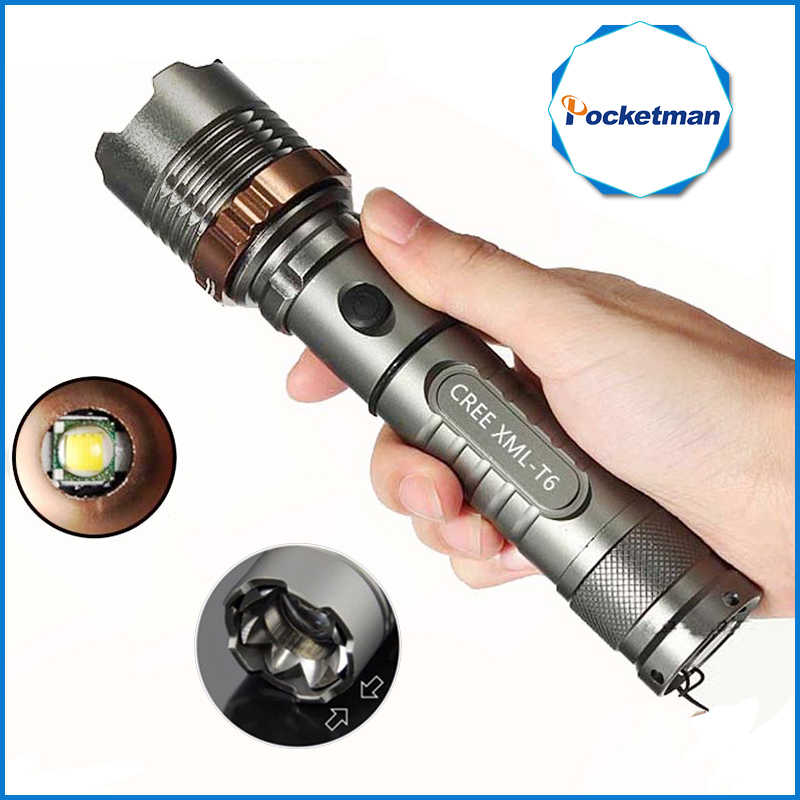 3800lm XM-L T6 5modes LED Tactical Flashlight Torch Waterproof Hunting Flash Light Lantern zaklamp taschenlampe torcia