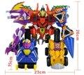 6-en-1 Dragon warrior un conjunto completo de la original deformación warrior king kong juguetes de La forma final de los niños del dragón juguetes