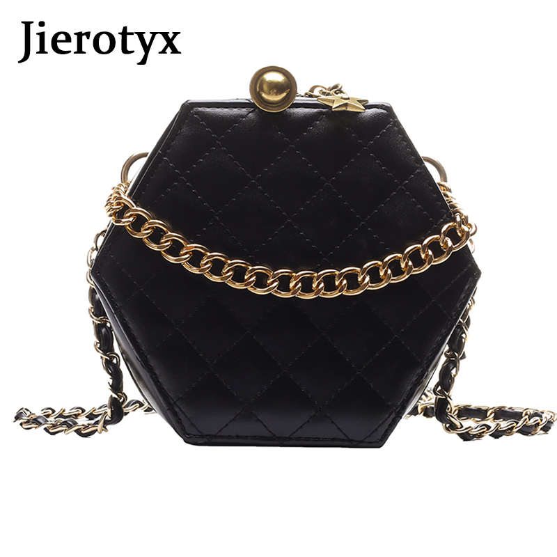 JIEROTYX Design Fashion Women Shoulder Bag Leather Crossbody Messenger Bags Sexy Chins Gothic Punk For Female Zipper
