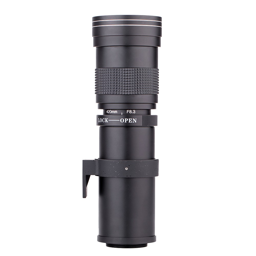 Lightdow 4-800mm F/8.3-16 Super Telephoto Lens Manual Zoom Lens for Canon Nikon Sony Pentax DSLR Camera 3