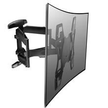 32-60 Heavy Duty Full Rotating Wall TV Mount LCD LED Monitor Bracket Mount Arm -MA51A loctek full motion tv bracket adjustable retractable rotating of intelligent lcd monitor mount wall tv holder mount tv arm stand