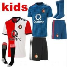 2018 boy child kids kit Feyenoord football shirt children s shirt 2019  casual t-shirt 18 19 kids kit Feyenoord soccer jersey a6269f610