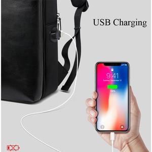 Image 3 - BOPAI Detachable 2 in 1 Backpack USB External Charge Laptop Backpack Shoulders Anti theft Backpack  Waterproof Backpack for Men
