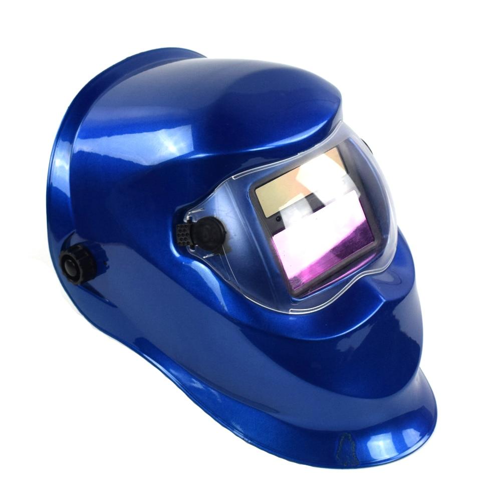 Casque de soudage remplacement automatique masque de soudage bandeau soudeur masque de soudage masque TIG-110 bleuCasque de soudage remplacement automatique masque de soudage bandeau soudeur masque de soudage masque TIG-110 bleu