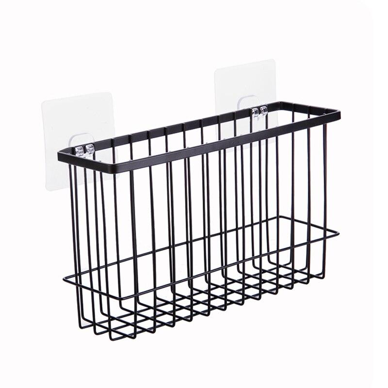 Iron Storage Rack Practical Kitchen Cabinet Drawer Organizer Door Hanger Storage Basket Kitchen Suppli Bathroom shelf