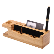 KISSCASE Universal Phone Holder Real Wooden Mobile Phone Holder Stand For iPhone 6 6s 7 Plus or Apple Watch Holder Stand Cradle