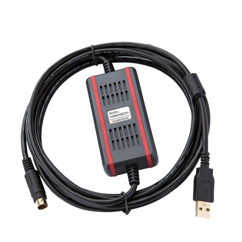 USBACAB230 Communication Cable Suitable Delta DVP All Series PLC Programming Cable Download Cable USB-DVPUSBACAB230 Communication Cable Suitable Delta DVP All Series PLC Programming Cable Download Cable USB-DVP