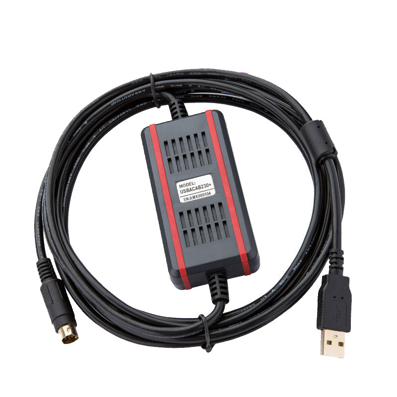 USBACAB230 Communication Cable Suitable Delta DVP All Series PLC Programming Cable Download Cable USB DVP
