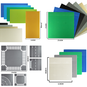 Klassische Dots Basis Platten Kunststoff Ziegel Baseplates Kompatibel Stadt Abmessungen Bausteine Bau DIY Spielzeug