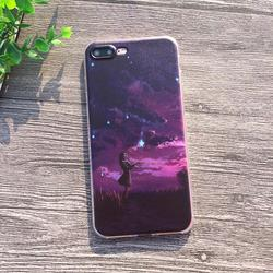 Soft Silicon Cover Case For Apple iPhone 8 7 7Plus 6 6S Plus 5S SE Cases iPhone X Shell Printing Sunrise Over The Sea Styles 4