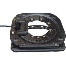 Base giratória para cadeira, base giratória para assento de carro com 4 vias